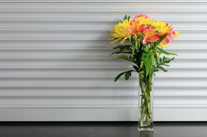 bloemen in een vaas Business Tales